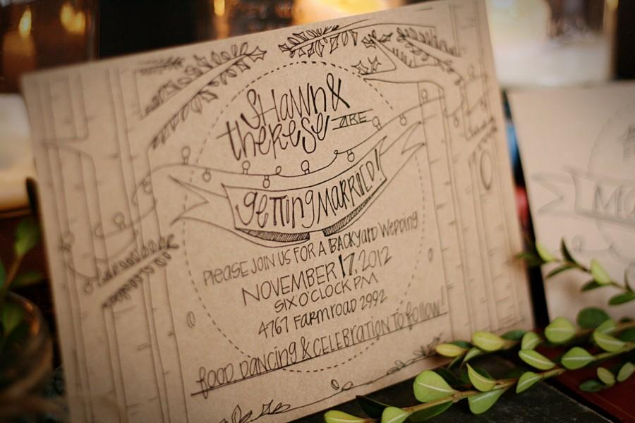 Wedding - All Lit Up Wedding Invitation Suite
