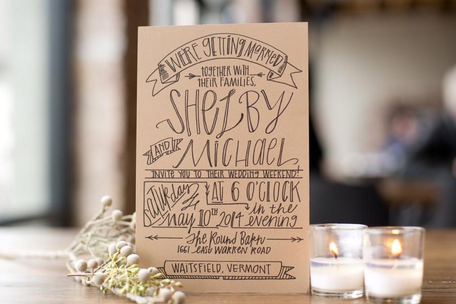 زفاف - Banner Wedding Invitation Suite