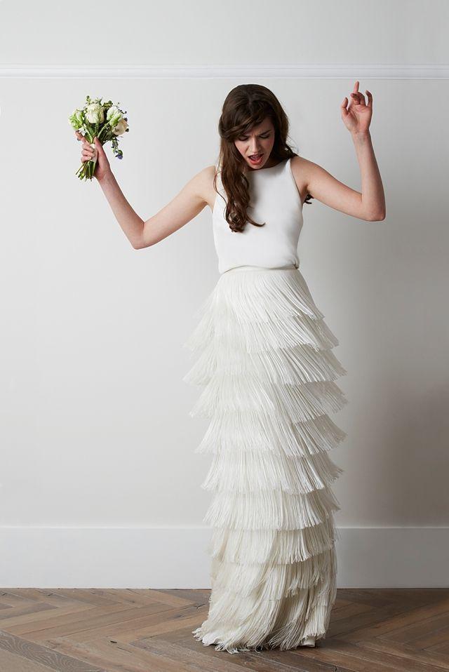 زفاف - White Modern Dress