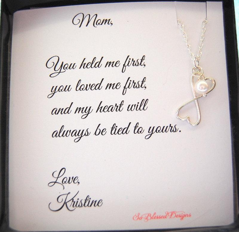 Mother Of The Bride Groom Gifts For Mom To From Daughter Mothers Poem Birthday Gift