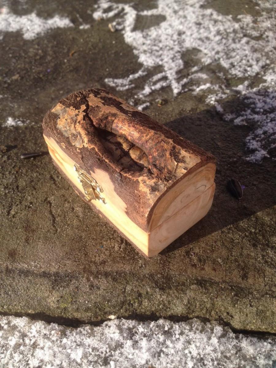 Свадьба - Wedding ring box  wood rustic wedding Ring Bearer Box Pillow Alternative Engagement Ring Box