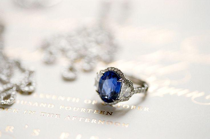 sapphire engagement rings to channel your inner princess kate - Princess Kate Wedding Ring
