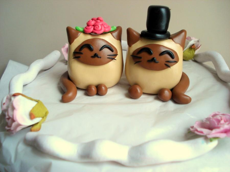 Cat Birthday Cake Decorations
