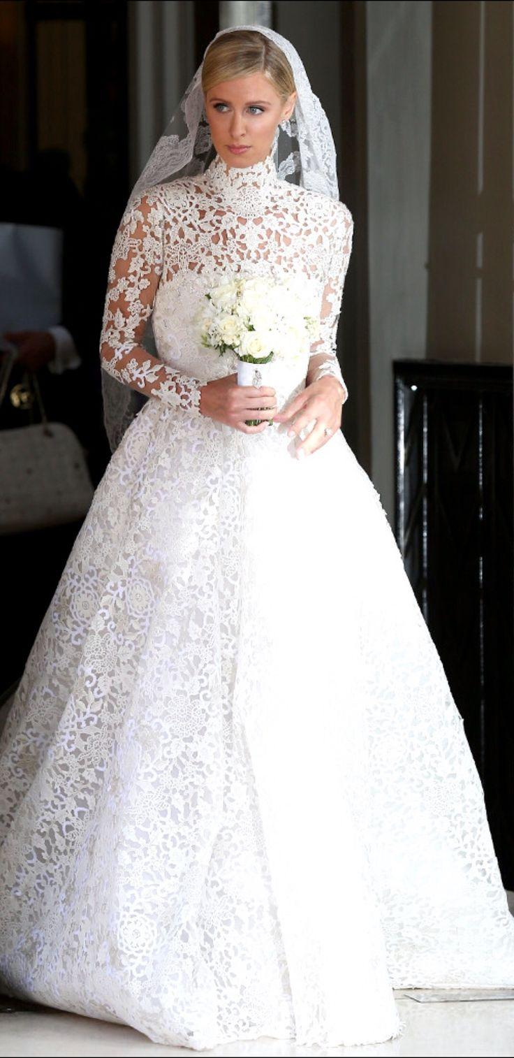 Hilton Wedding | Hochzeits Thema Wedding Dress Nicky Hilton 2521165 Weddbook