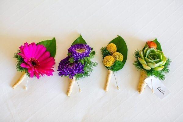 Свадьба - Colorful Wedding Accessories