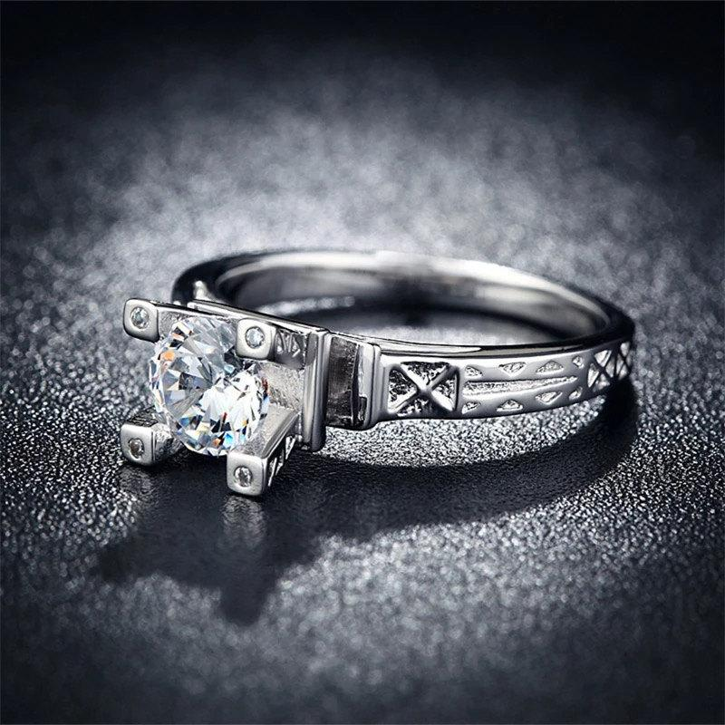 Sterling Silver Ring Cubic Zirconia CZ Jewelry Silver Jewelry
