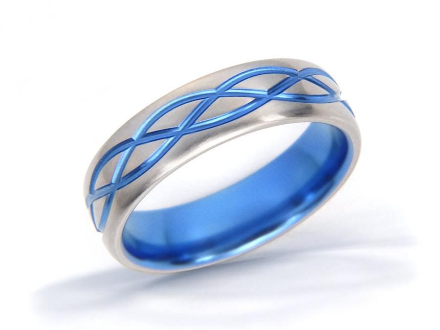 Celtic Ring Wave Ring Celtic Knot Ring Mens Celtic Ring