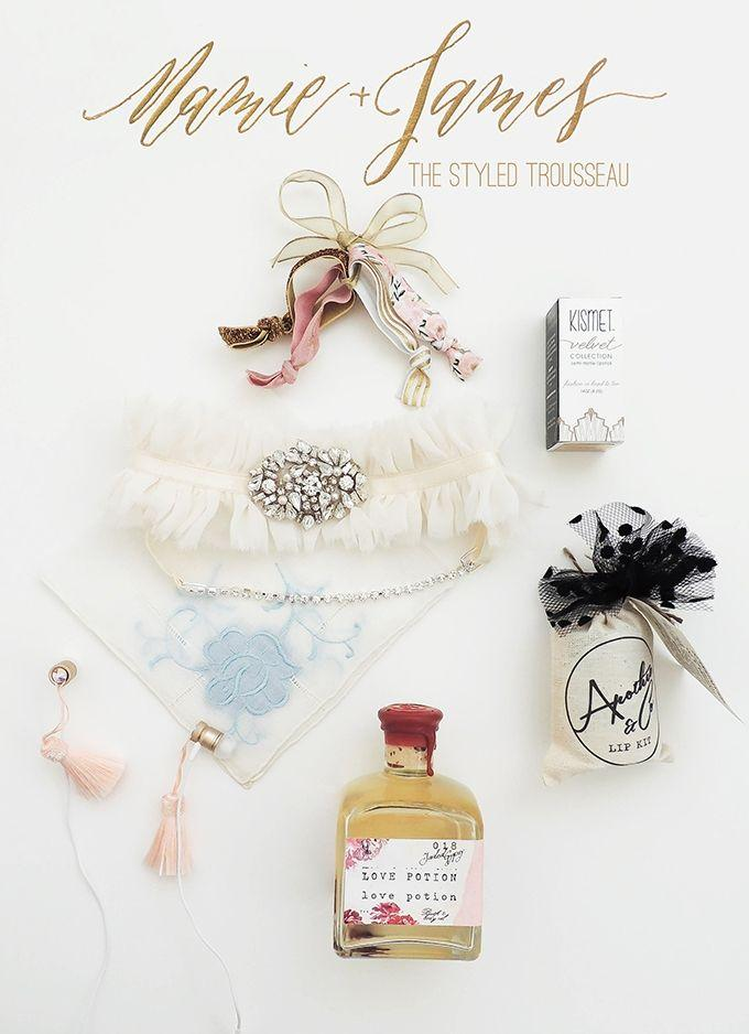Wedding - Mamie   James: The Styled Trousseau Giveaway