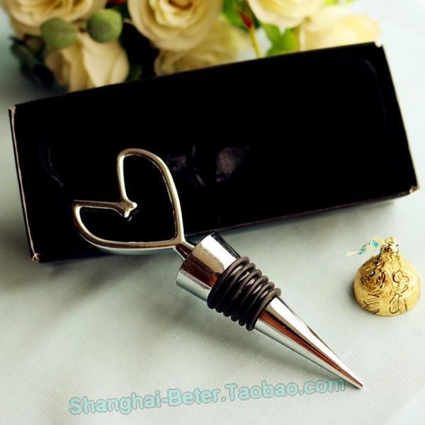 زفاف - 创意订婚婚礼小物 节日礼品WJ116花嫁新娘派对礼 复古钥匙红酒塞