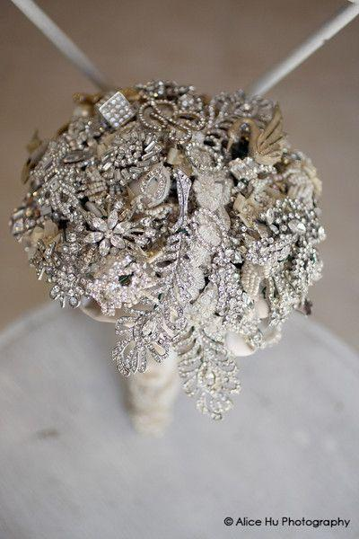 Wedding - Simply Unique's Blog: Vintage Brooch Bouquet