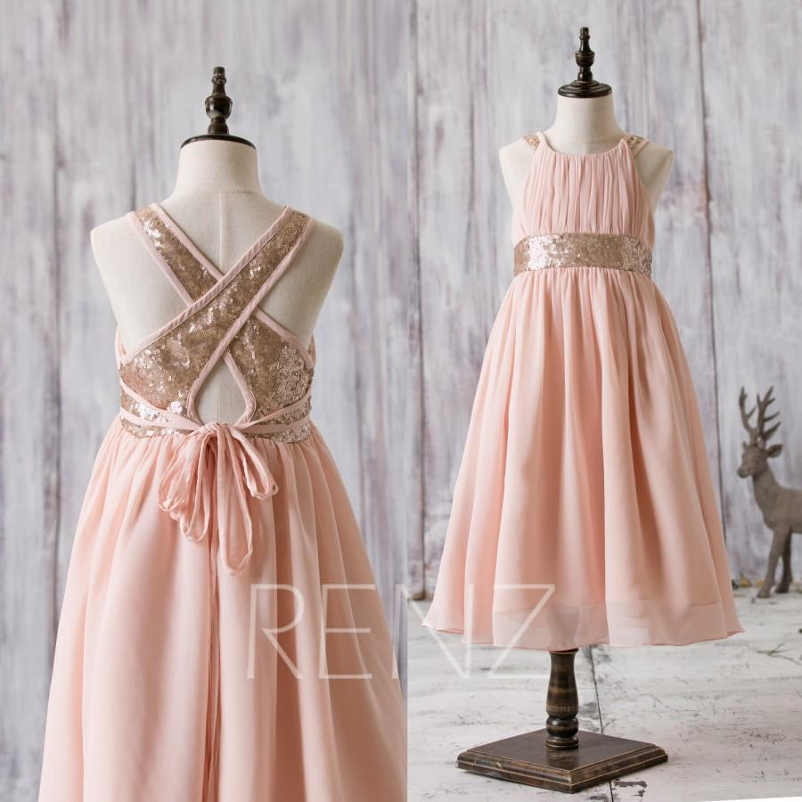 2016 peach junior bridesmaid dress rose gold sequin flower girl 2016 peach junior bridesmaid dress rose gold sequin flower girl dress a line empire waist children cocktail dress floor length hk207 ombrellifo Gallery