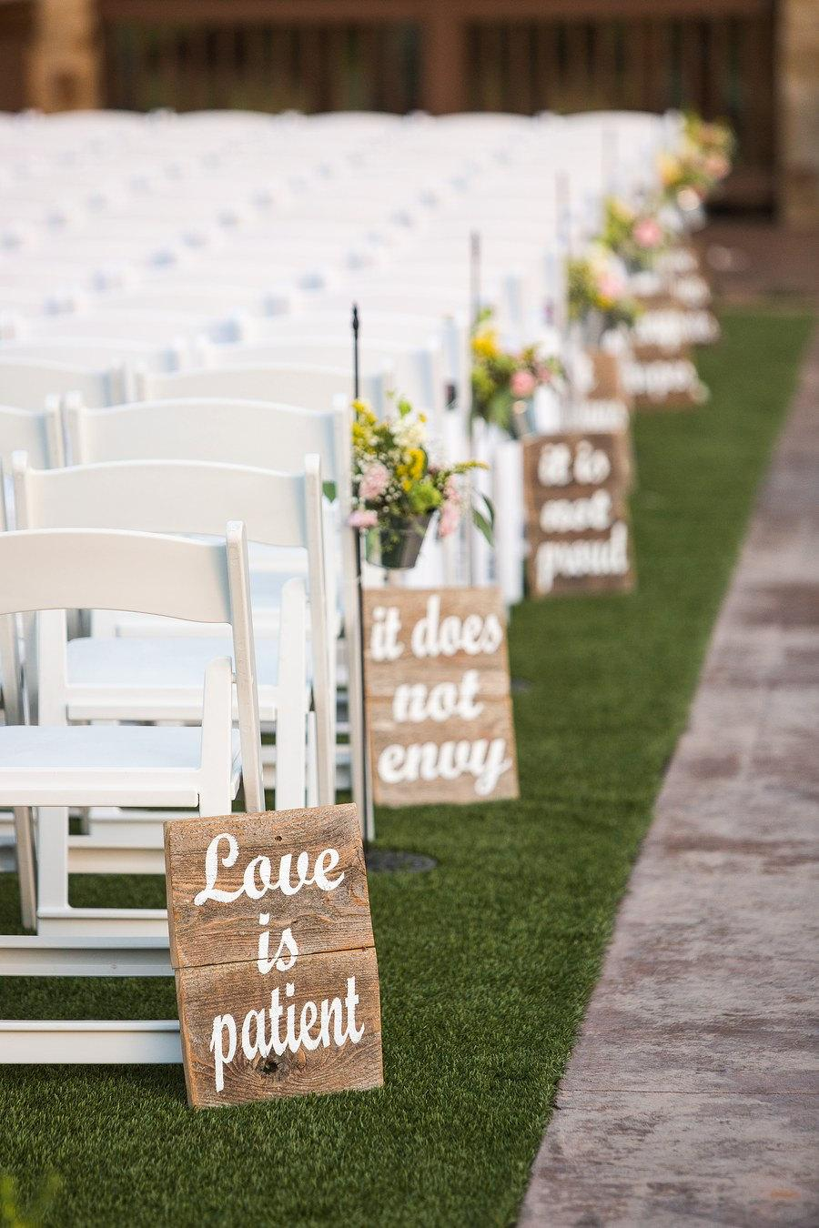 Mariage - Love is patient, Love is kind