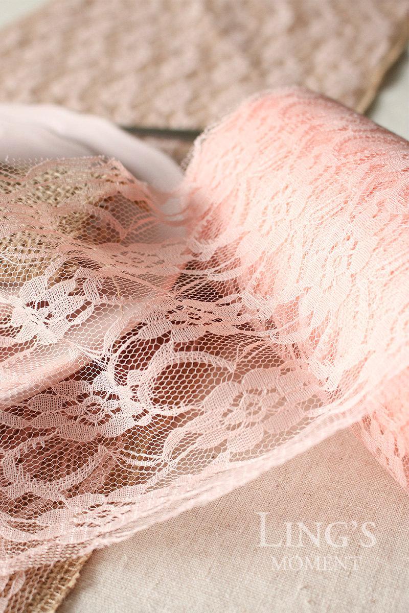 Hochzeit - 30cm x 24 yards White Lace Roll-Lace Fabric-Black Lace Table Runner-Lace Table Centerpiece-Wedding Lace Decoration-Lace Placemat-LAR3025