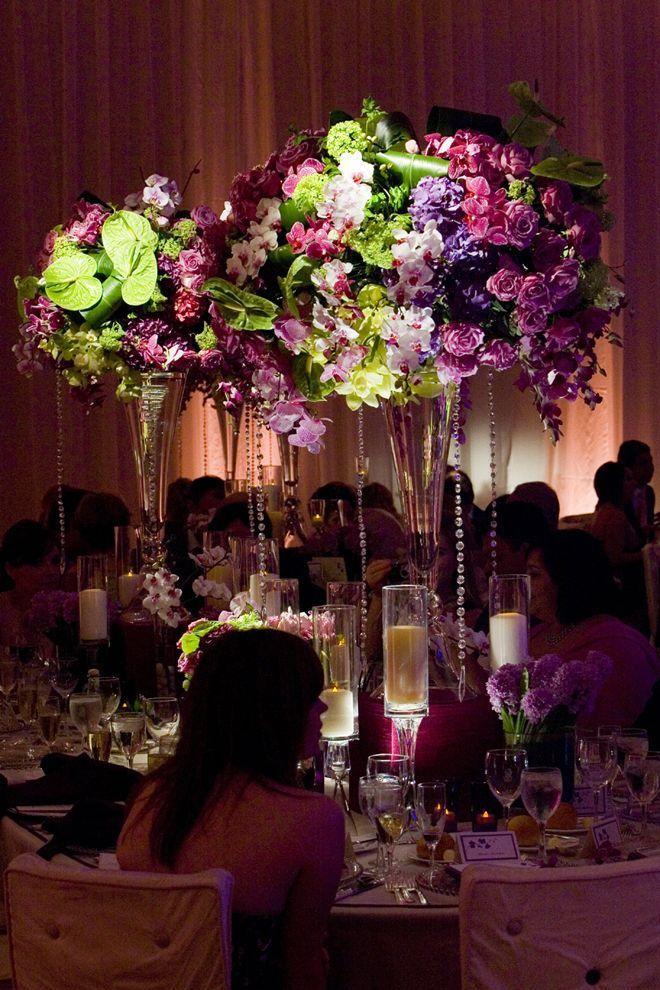 Wedding - 25 Stunning Wedding Centerpieces - Part 9
