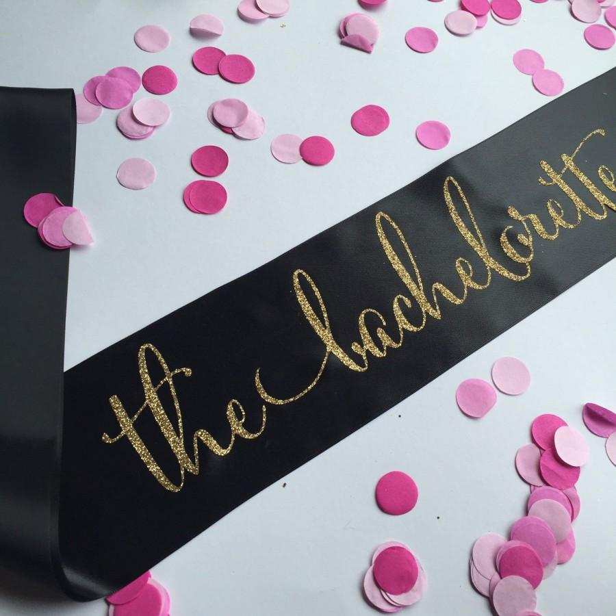 The Bachelorette Sash, The Bachelorette, Bachelorette Sash ...