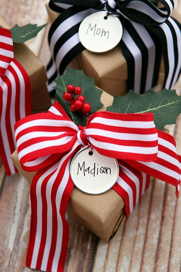 Hochzeit - Christmas Gift Wrapping Ideas