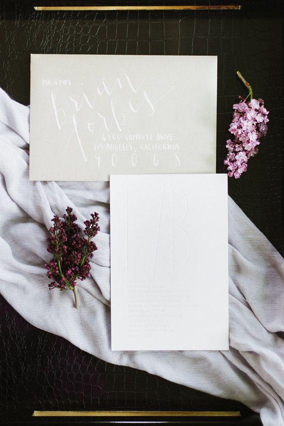 زفاف - Stylish Wedding Invitation Card