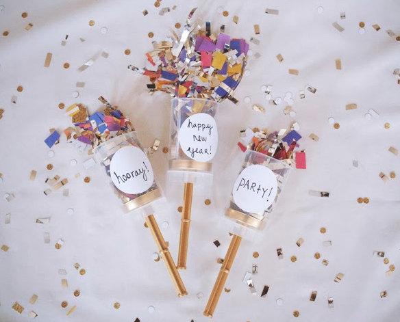 set of 25 confetti popper party popper poper