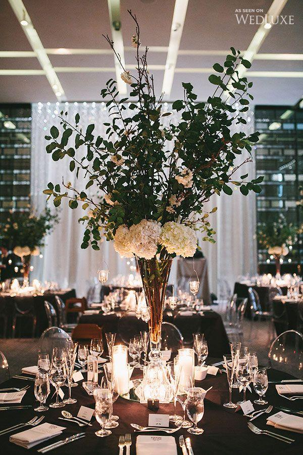 Свадьба - A Modern, Black-tie Wedding Infused With Elegance