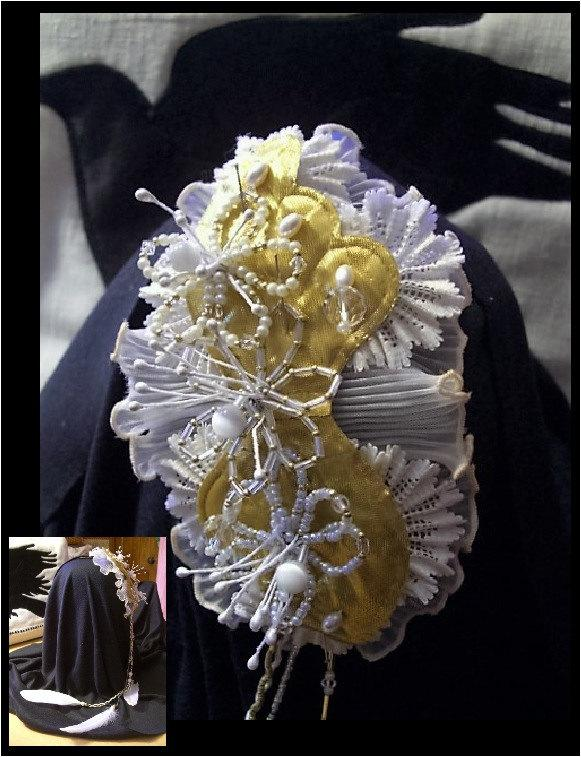 Hochzeit - YOUR OOAK FASCINATOR - personalized, custom, desginer handcrafted