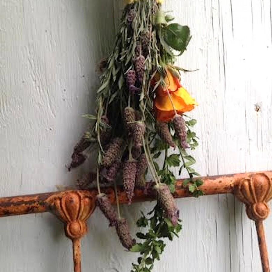 Mariage - wedding mom friend lover flower florist boutonniere organic natural keepsake rose lavender summer handmade country bride cowgirl bouquet
