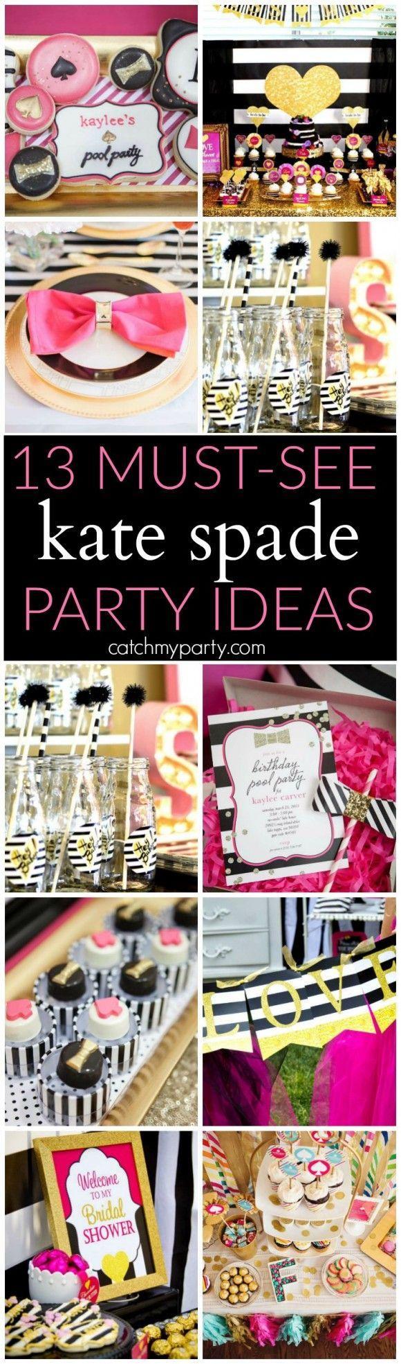 Wedding - 13 Awesome Kate Spade Party Ideas