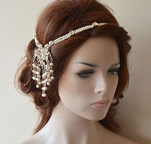 Wedding Head Chain Pearl Hair Jewelry Bridal Hair Accessories