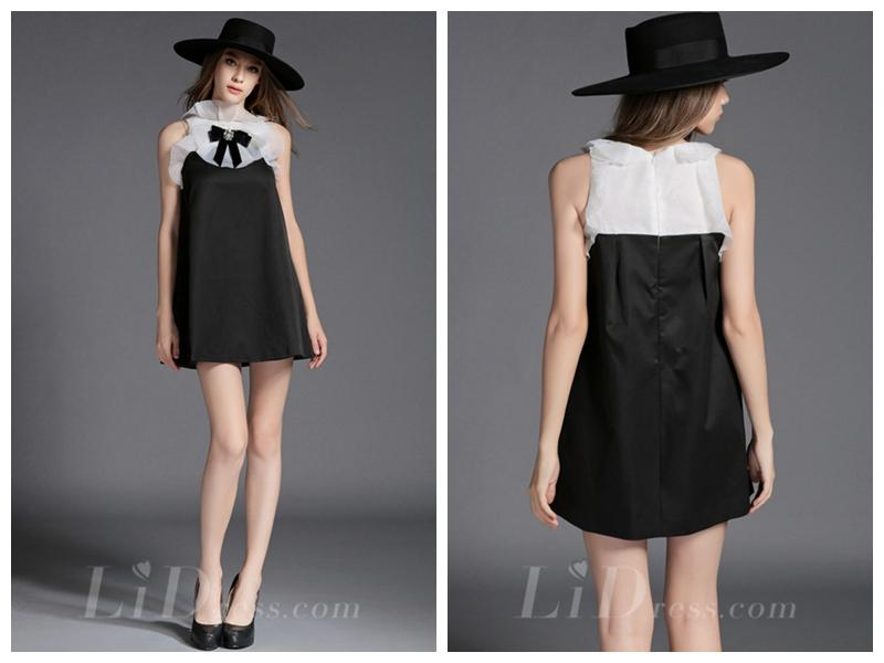 Wedding - Organza A-line Short Dress