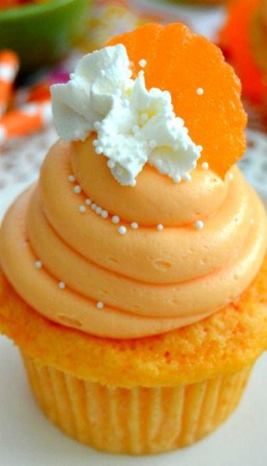 Wedding - Orange Creamsicle Cupcakes