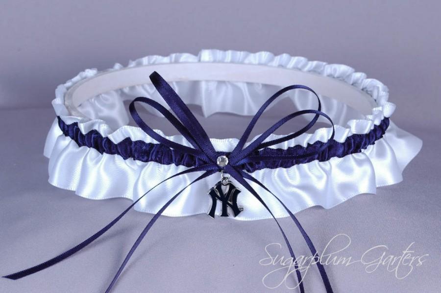 Свадьба - New York Yankees Wedding Garter