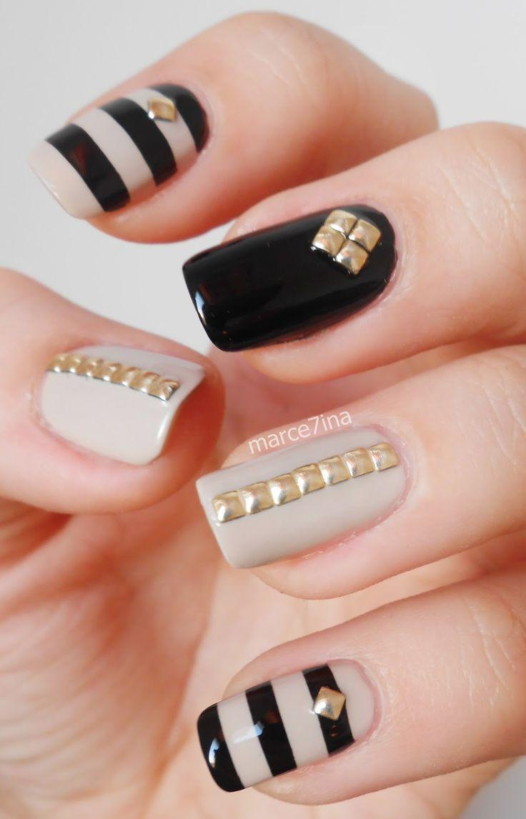 Свадьба - 25 Gold Nail Designs Symbolizing Your Success And Wisdom