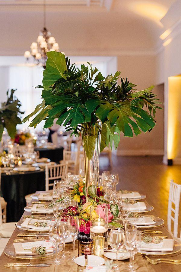 Свадьба - Tropical Chic Miami Wedding By Elaine Palladino - Southern Weddings