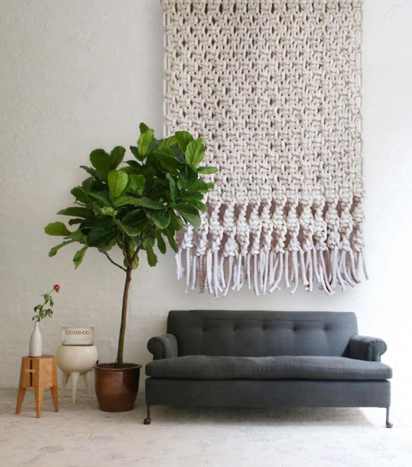 Hochzeit - Wall Hanging, Macrame Backdrop