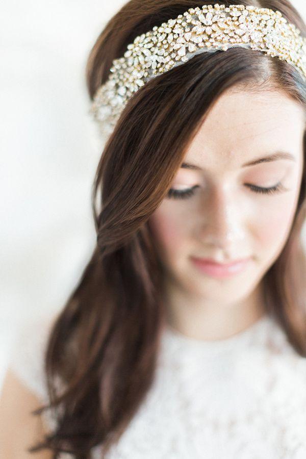 Свадьба - Monochrome Bridal Inspiration