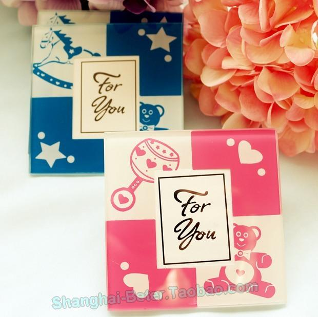Mariage - Baby Shower Photo Glass Coasters BTEER-BD026