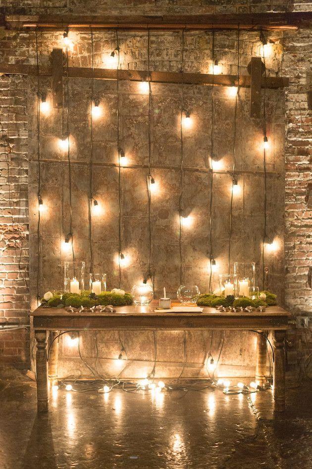 Wedding - Romantic Candlelit Winter Wedding At Night