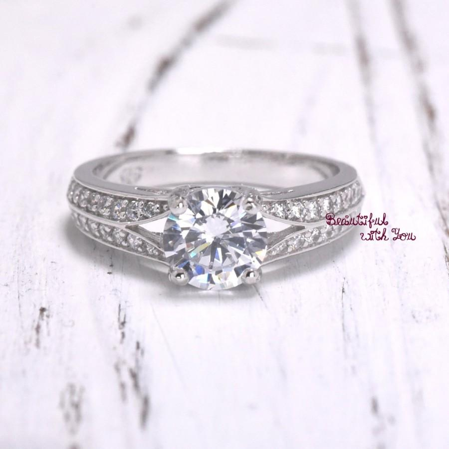 fiancee engagement ring for her wedding band white gold