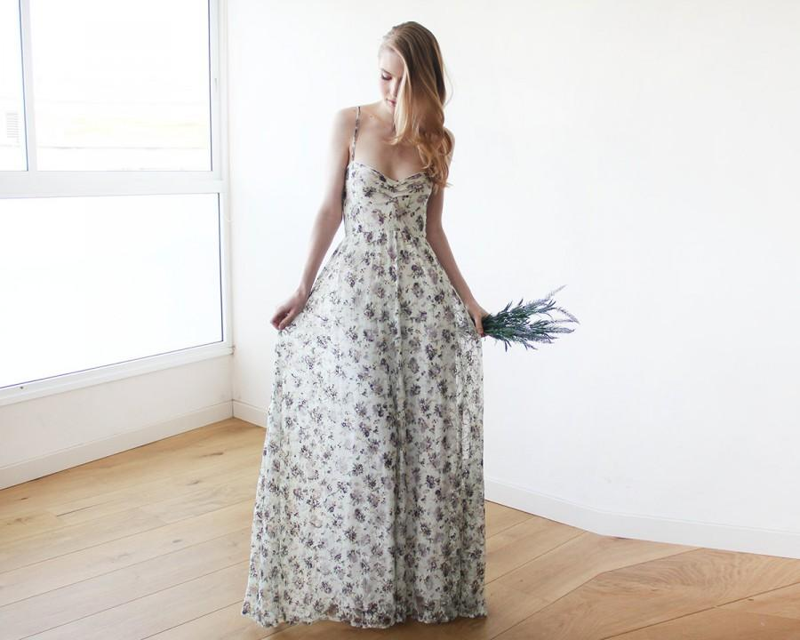 Свадьба - Floral Lace maxi straps ballerina gown, Sweetheart neckline maxi spring dress , Green dress