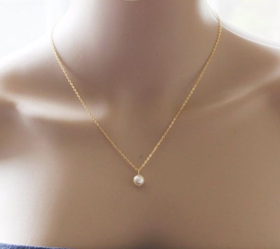 Floating pearl pendant necklace gold pearl drop necklace ivory floating pearl pendant necklace gold pearl drop necklace ivory pearl necklace bridesmaid necklace pearl necklace gold or silver mozeypictures Choice Image