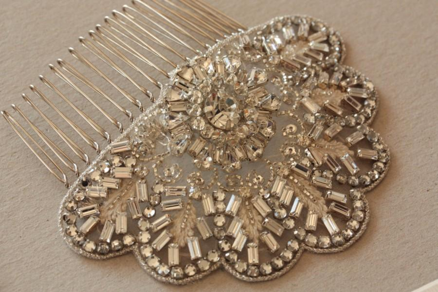 Mariage - Bridal Hair Comb - Jaz (Made to Order)