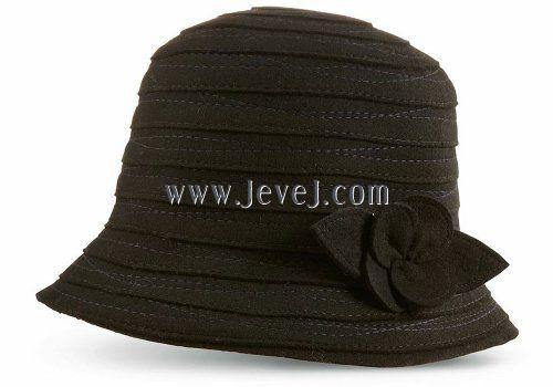 Mariage - Acorn Women's Blair Applique Bucket Hat, Black, One Size