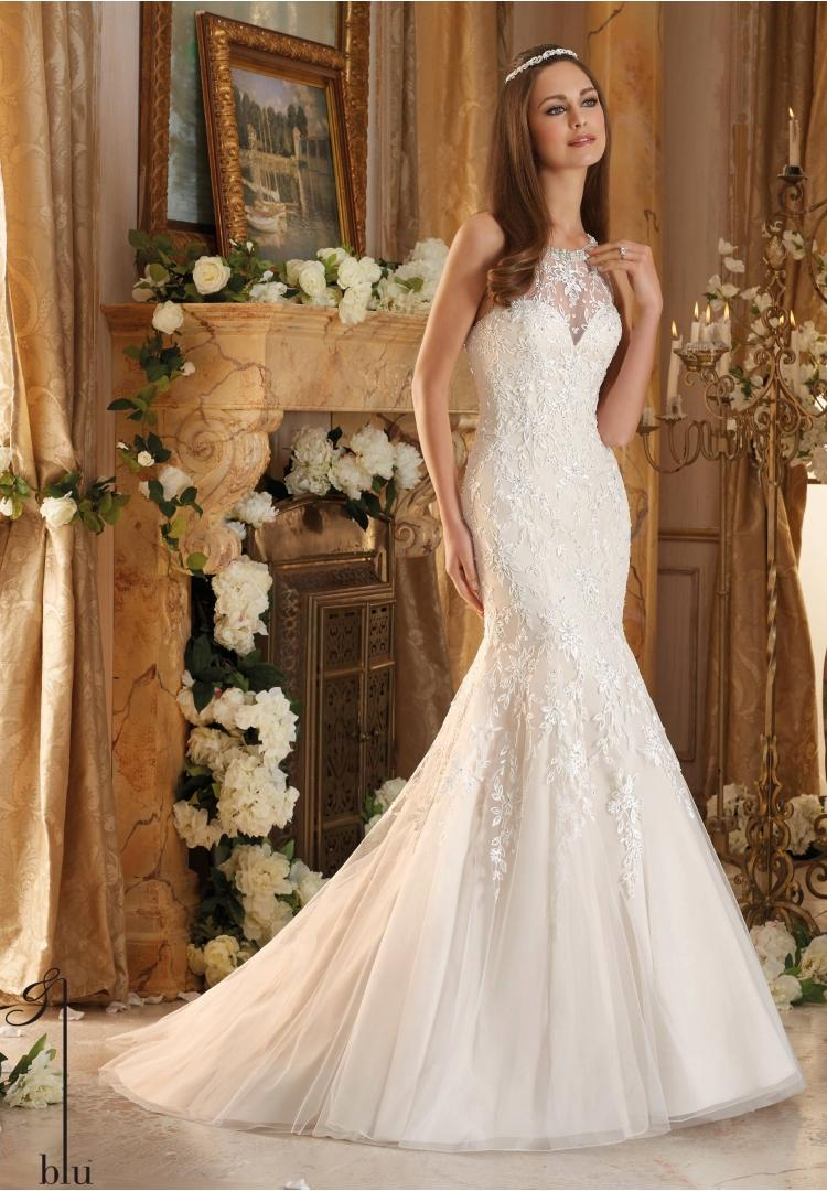 Wedding - mori lee blu 5462