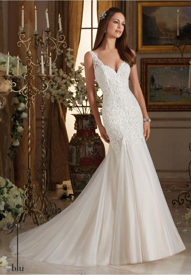 Wedding - mori lee blu 5464