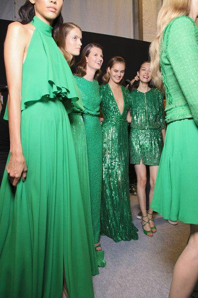 Свадьба - Elie Saab At Paris Spring 2012 (Backstage)
