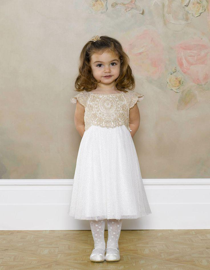 071cd0b9 Flower Girls & Ring Bearers - Monsoon Baby Estella Sparkle Dress ...