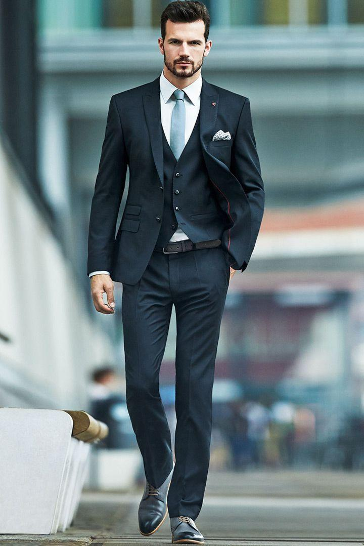 Свадьба - The Perfect Blue For When You Say I Do!~The Best Blue Suits For Men - Mon Cheri Bridals