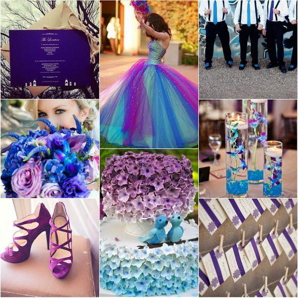 {Wedding Trends}Blue Wedding Color Themes For Winter 2013~2014