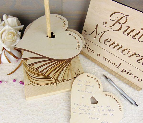 Wedding Memory Book Ideas: 50 Unique Wedding Guest Book Ideas #2525132