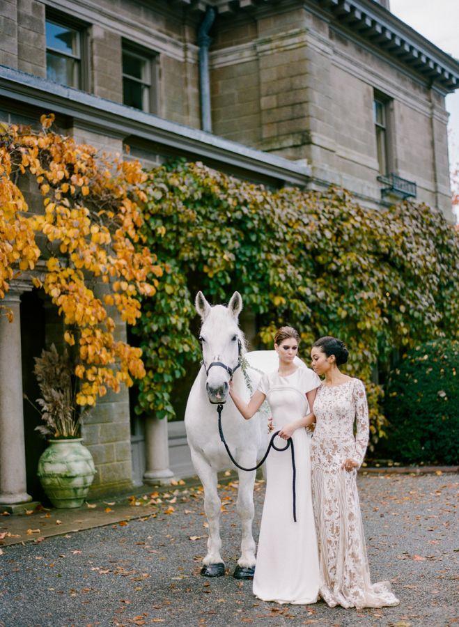 Wedding - Festive Fashion-Forward Winter Wedding Inspiration