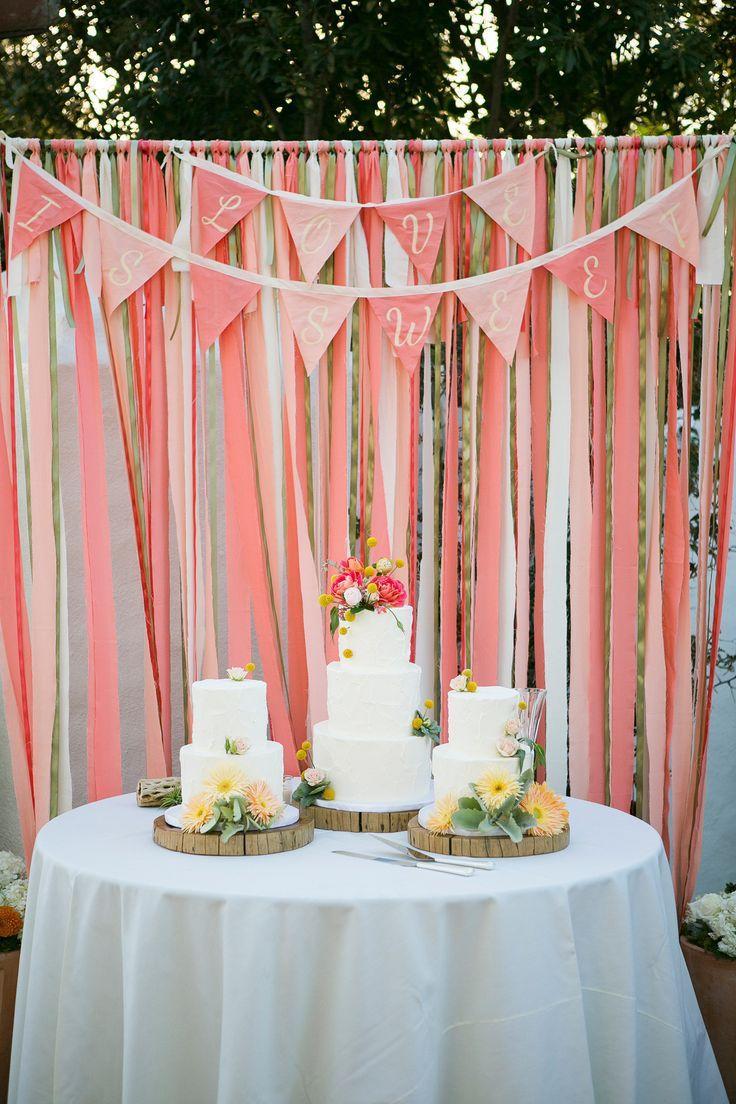 Свадьба - Coral Wedding At San Clemente Historic Beach Cottage